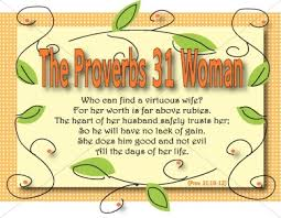 What's a Proverb's 31 Woman?